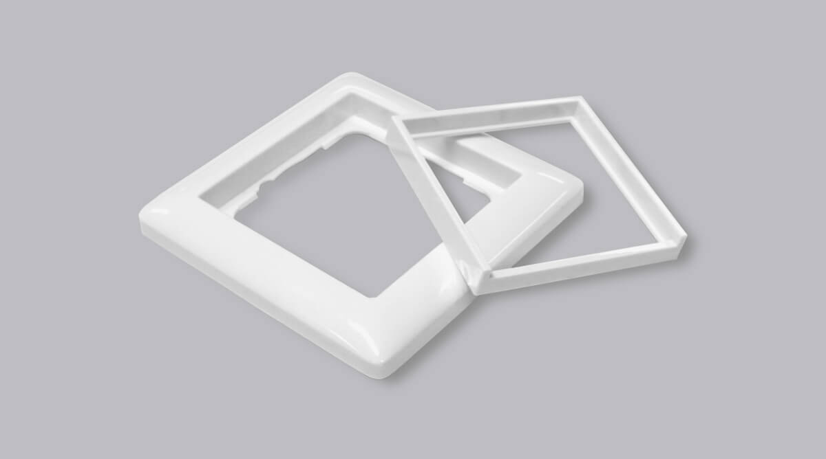gira standard 55 rahmen ak23 hitoiro. Black Bedroom Furniture Sets. Home Design Ideas
